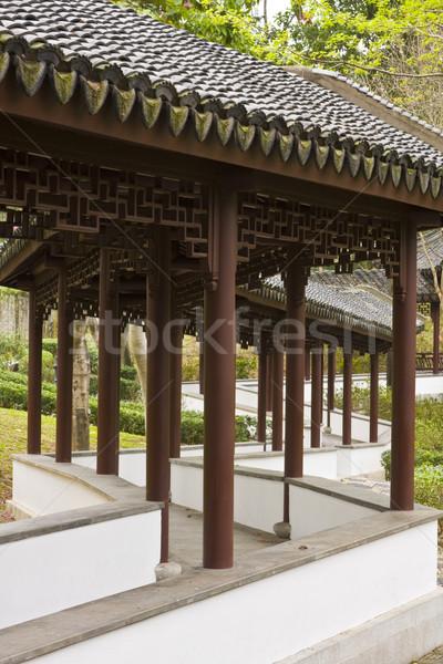 Jardín camino Asia pueden más tiempo Foto stock © cozyta