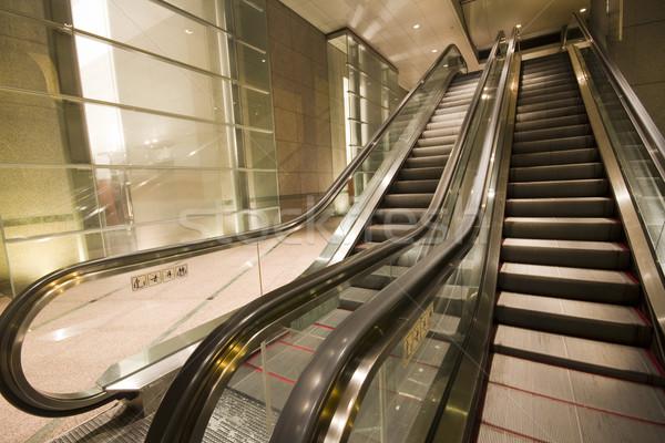 Costruzione Hong Kong notte business edifici luci Foto d'archivio © cozyta