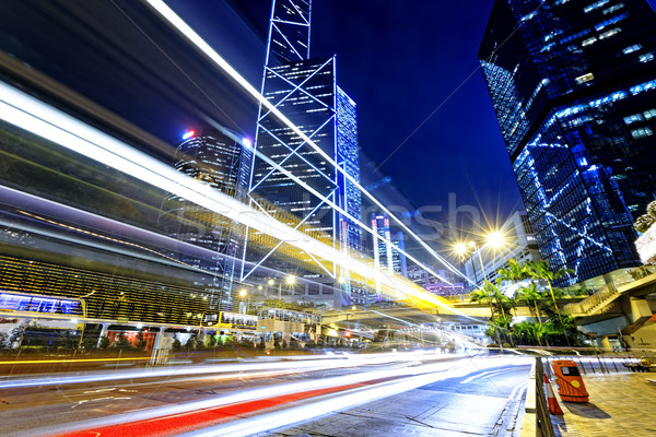 night traffic in the city  Stock photo © cozyta