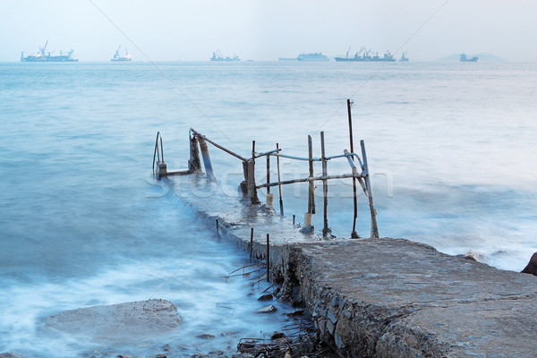 китайский структуры плаванию морем берега Сток-фото © cozyta