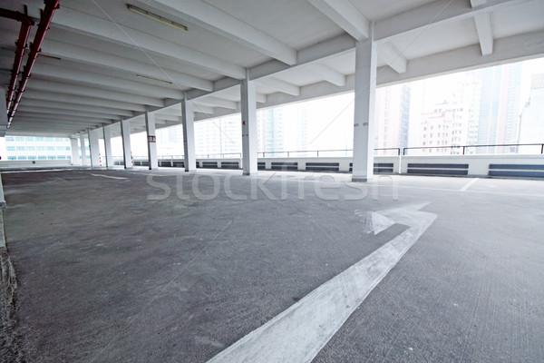 Parking voiture espace intérieur parc transport Photo stock © cozyta