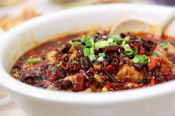 hot fish Stock photo © cozyta