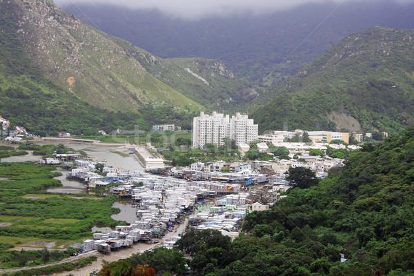 Tai O fishing village in Hong Kong  Stock photo © cozyta