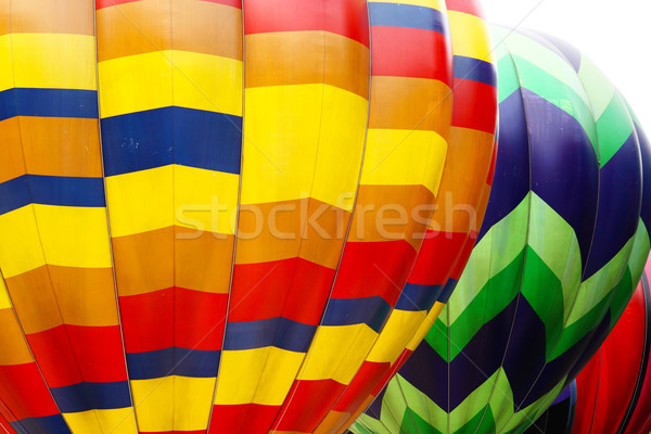 Stock photo: Photo of color hot air balloon and sunny day