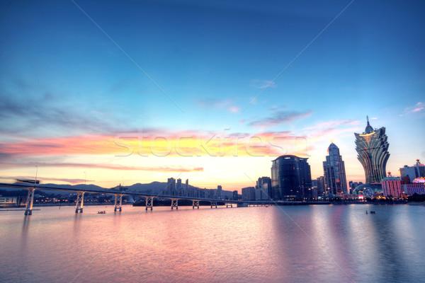 Macau at night  Stock photo © cozyta