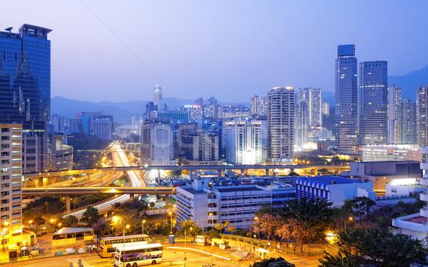 hongkong night Stock photo © cozyta