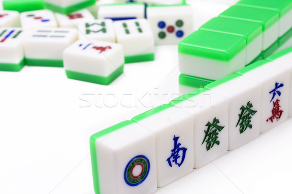 Mahjong, very popular game in China Stock photo © cozyta