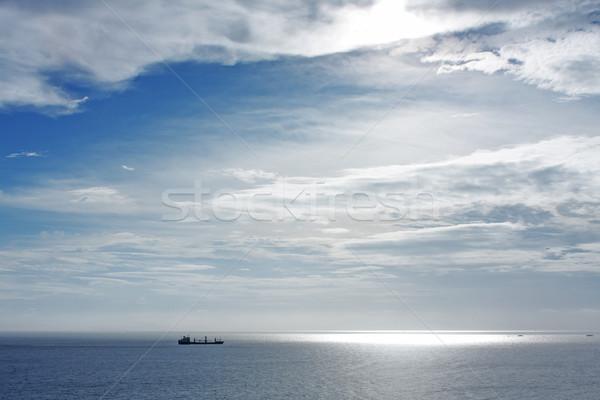 cargo ship at sea Stock photo © cozyta