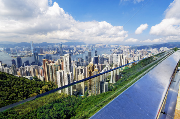 Hong Kong skylines daytime Stock photo © cozyta