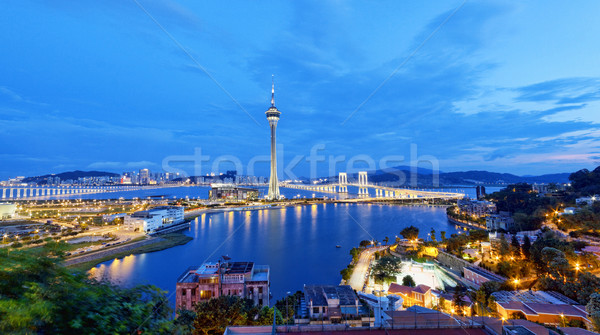 Macau night Stock photo © cozyta