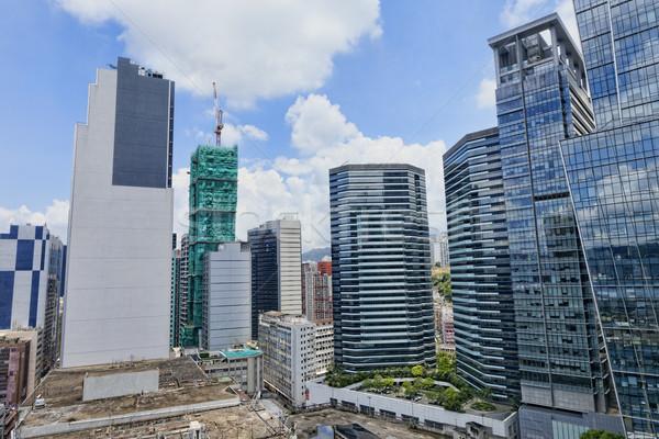 office buildings at day, hongkong kwun tong  Stock photo © cozyta