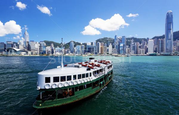 HongKong Harbour Stock photo © cozyta