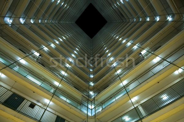 Hong-Kong public logement appartement paysage lumière Photo stock © cozyta