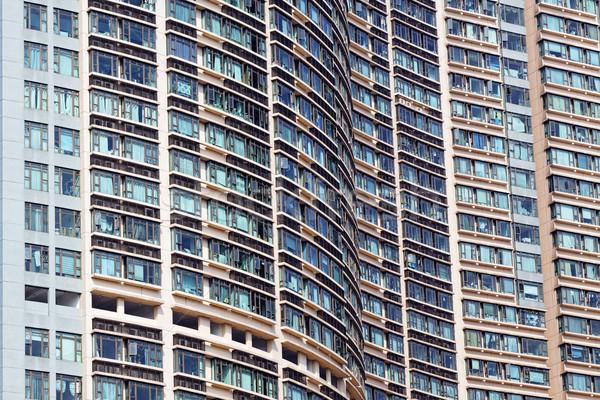 Nowego Hongkong dzień uruchomić ciemne Zdjęcia stock © cozyta