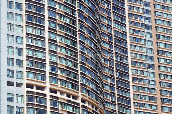 New apartments in Hong Kong Stock photo © cozyta