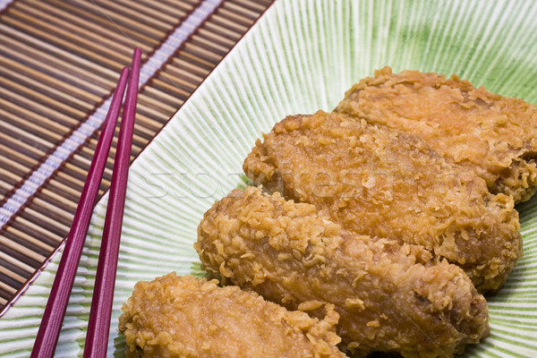 Chicken wings  Stock photo © cozyta