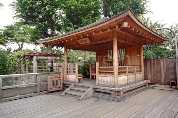 wood Pavilion Stock photo © cozyta
