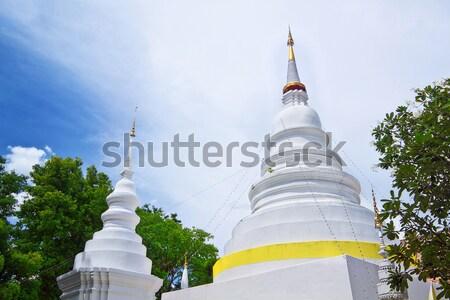 Thailand, Chiang Mai, Phra Thart doi suthep temple Stock photo © cozyta