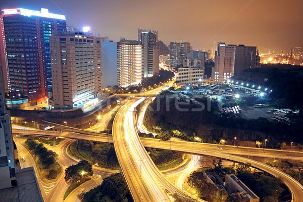 flyover ay night Stock photo © cozyta