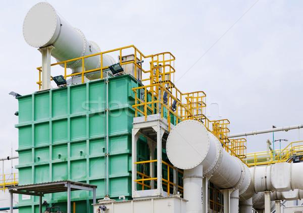 современных промышленности день газ воды нефть Сток-фото © cozyta