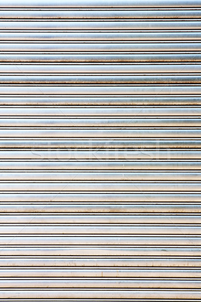 worn metal garage door gate store roller shutter  Stock photo © cozyta