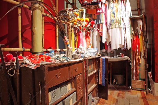 Chino ópera vestidor moda arte habitación Foto stock © cozyta