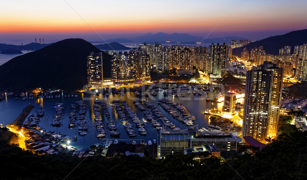 Typhoon Shelters in hong kong  Stock photo © cozyta