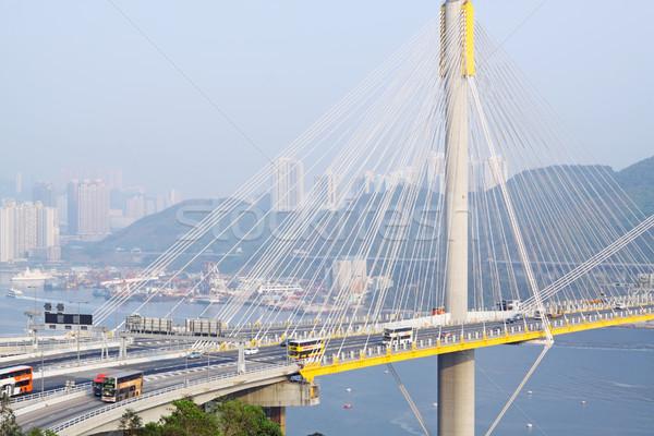 Ting Kau Bridge Stock photo © cozyta