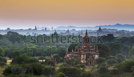 Tempio ora scenico view antica Foto d'archivio © cozyta
