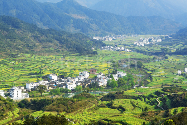 Stock photo: China country side