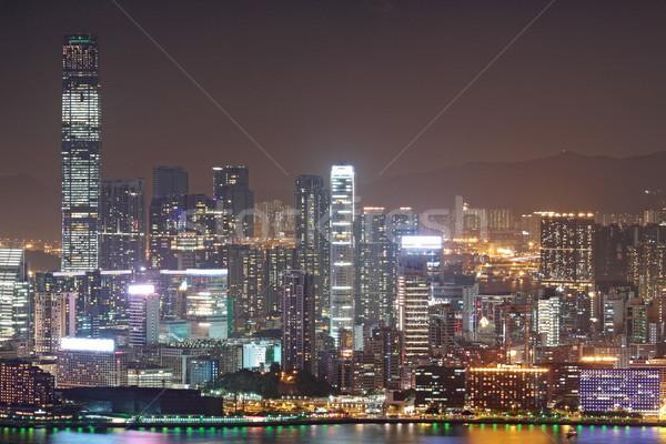 Hong Kong at night  Stock photo © cozyta