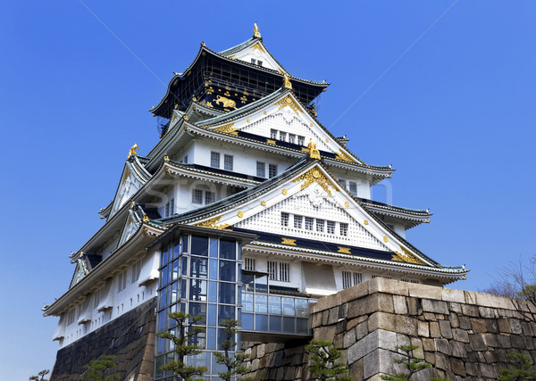 Osaka Castle in Osaka, Japan.  Stock photo © cozyta
