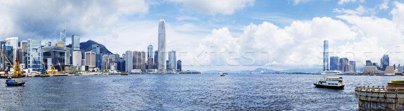 Hong Kong harbour Stock photo © cozyta