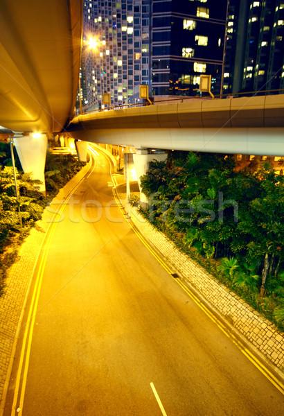 urban area at night Stock photo © cozyta