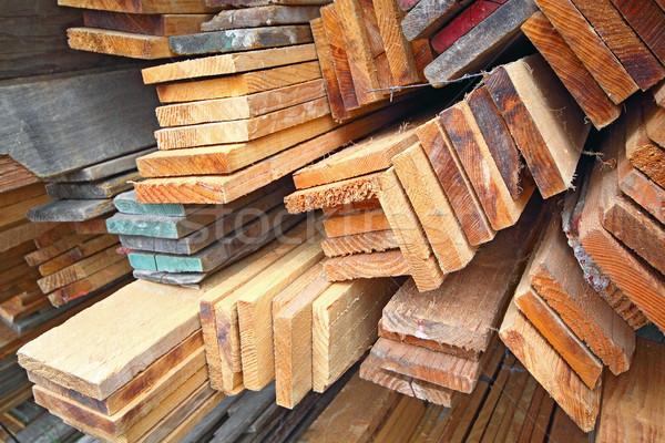 Madeira serrada textura árvore construção fundo Foto stock © cozyta