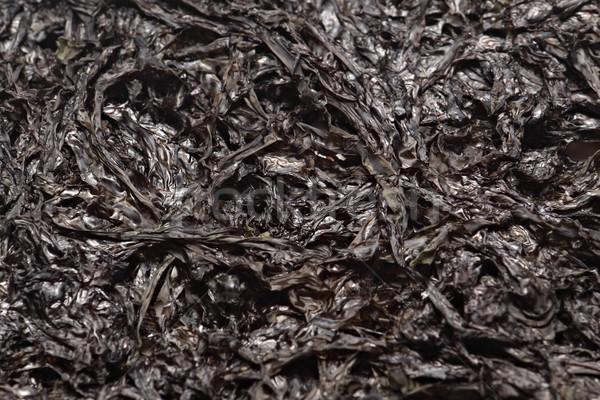 Jeden typu suszy wodorost używany tekstury Zdjęcia stock © cozyta