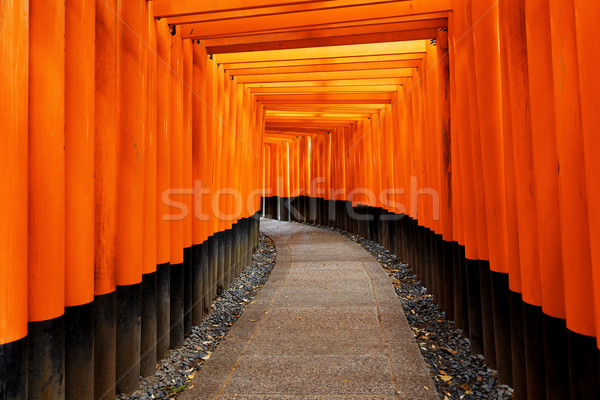 Fushimi Inari Taisha Shrine in Kyoto City, Japan Stock photo © cozyta