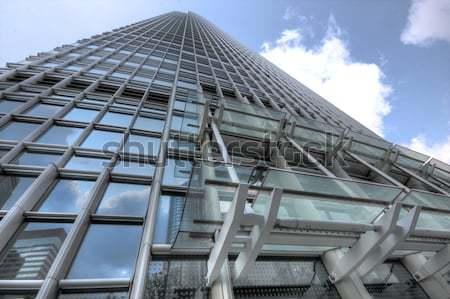 мнение новых современное здание Небоскребы бизнеса центр Сток-фото © cozyta
