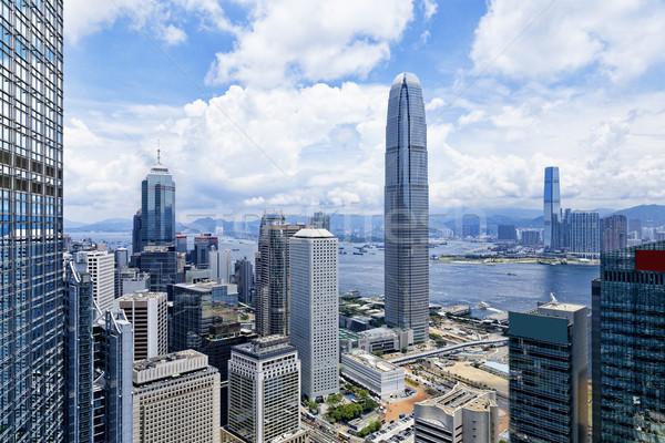 現代 建築物 香港 金融 區 海 商業照片 © cozyta