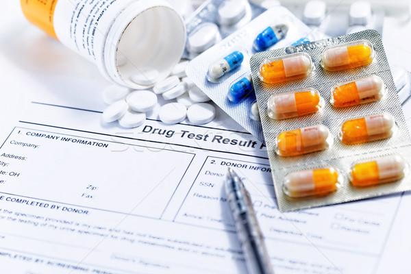 drug test report Stock photo © cozyta