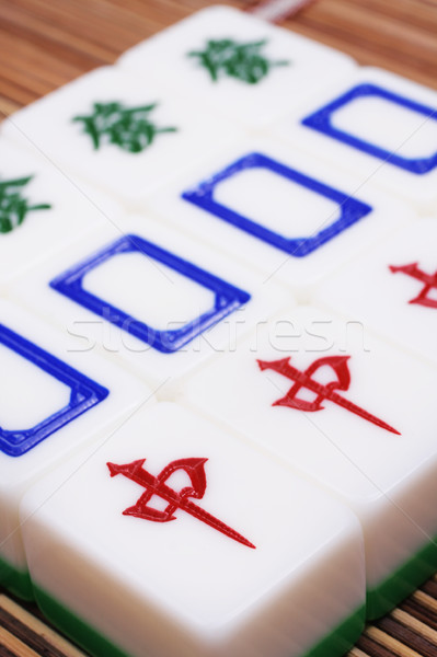 Mahjong, very popular game in China  Stock photo © cozyta