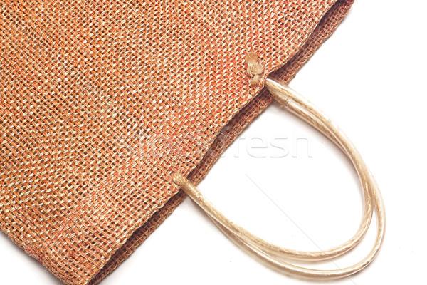 Wicker bamboo handbag  Stock photo © cozyta