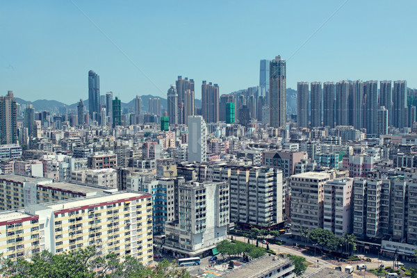 hong kong downtown  Stock photo © cozyta