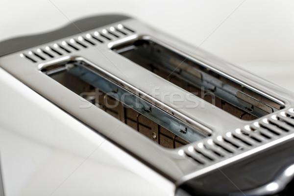 тостер современных дизайна хлеб кухне завтрак Сток-фото © cozyta