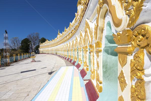 Umin Thounzeh temple in myanmar Stock photo © cozyta