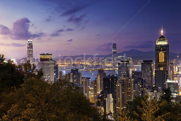 Beautiful HongKong cityscape Stock photo © cozyta