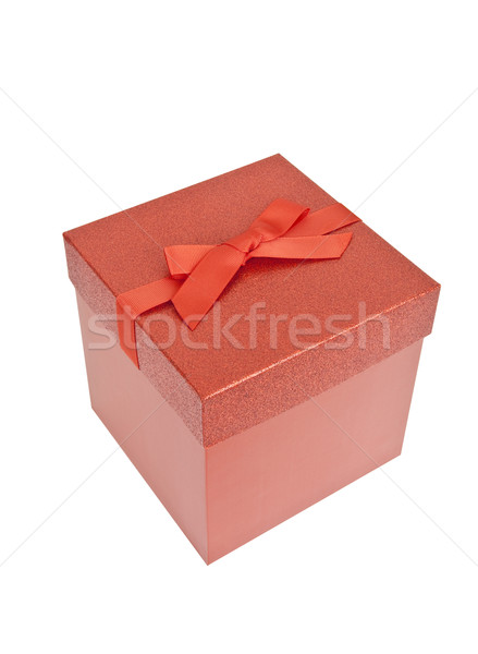 Red Christmas Present Stock photo © CrackerClips