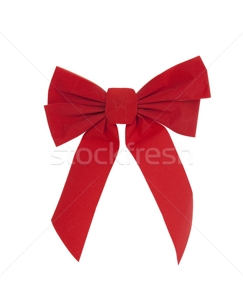 Christmas Bow Stock photo © CrackerClips