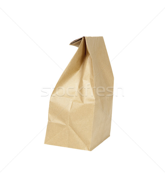 Paper Lunch Sack - Photo Object Stock photo © CrackerClips