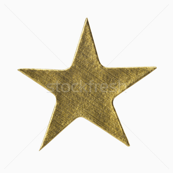 Gold Star Sticker Stock photo © CrackerClips